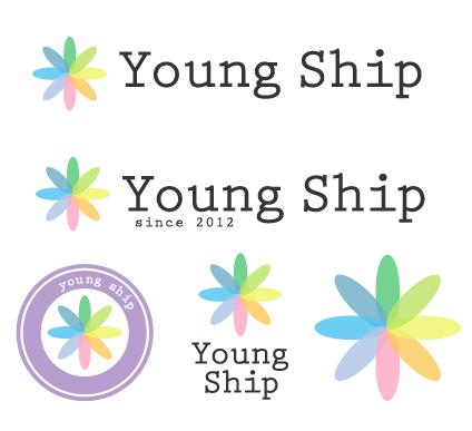グラフィックデザインを勉強する学生がロゴをつくります。