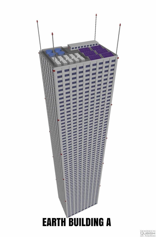 高層ビル達の写真を販売します QUBISM 3Dで作成した高層ビル達です。
