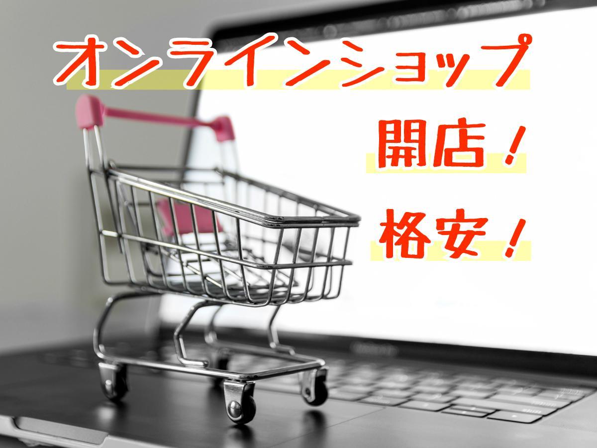ECサイト・ネットショップを作ります 今がオンラインビジネス開始のチャンス! イメージ1