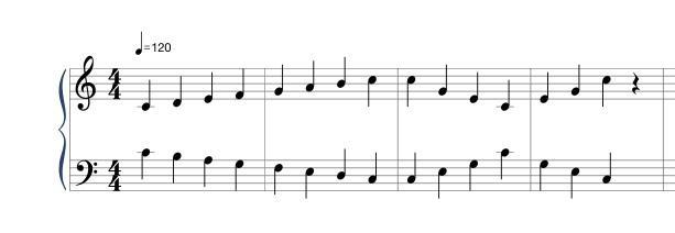 楽譜を読みます 初心者の方から楽典を覚えたい方にも対応いたします