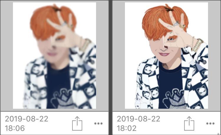 イラスト風の画像加工をします 推しの公式画像などをイラスト風に加工します。 イメージ1