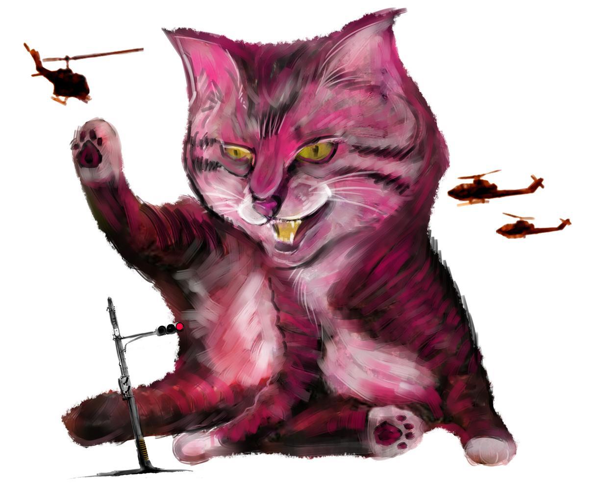 迫力的ペット絵描きます 猛獣的に描くよ猛獣的に描くよ猛獣的に描くよ猛獣的に描くよ