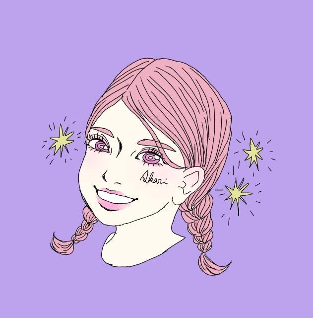 リアルで可愛いポップなカラーの似顔絵描きます SNSのアイコン、プレゼントなどに最適なオシャレな似顔絵☆