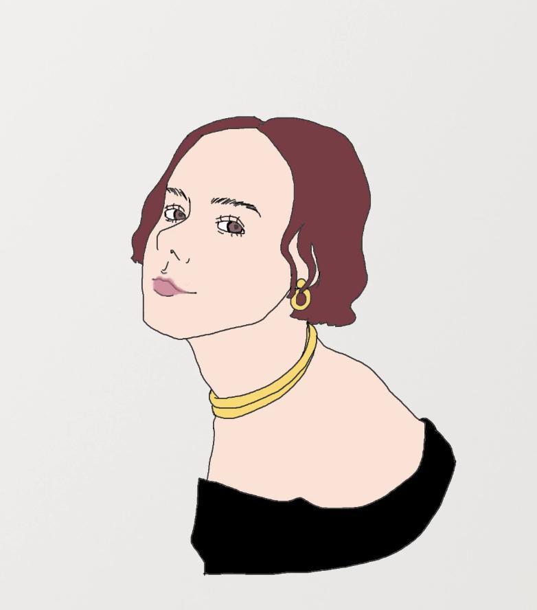 簡略化したシンプルな似顔絵を描きます 名刺やLINE、instagramなどに◎