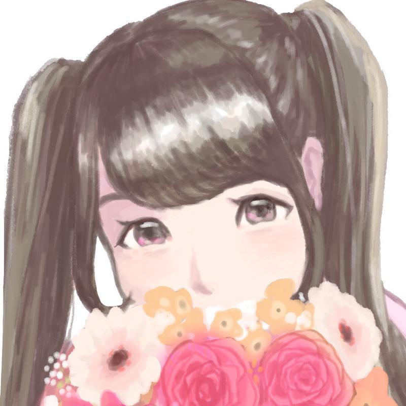 女の子イラストのアイコン描きます!
