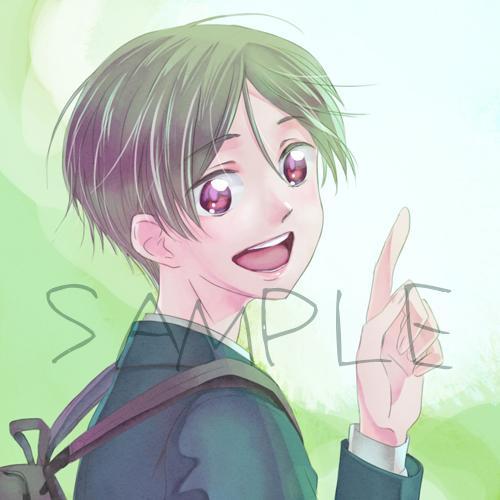 snsアイコンつくります かっこいいかわいい男の子イラストがお好き