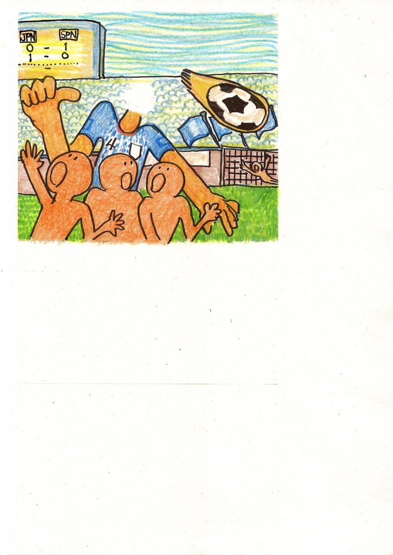 着せ替えイラストで子どもの将来の夢を作ります 今回は~、サッカー選手特集です!