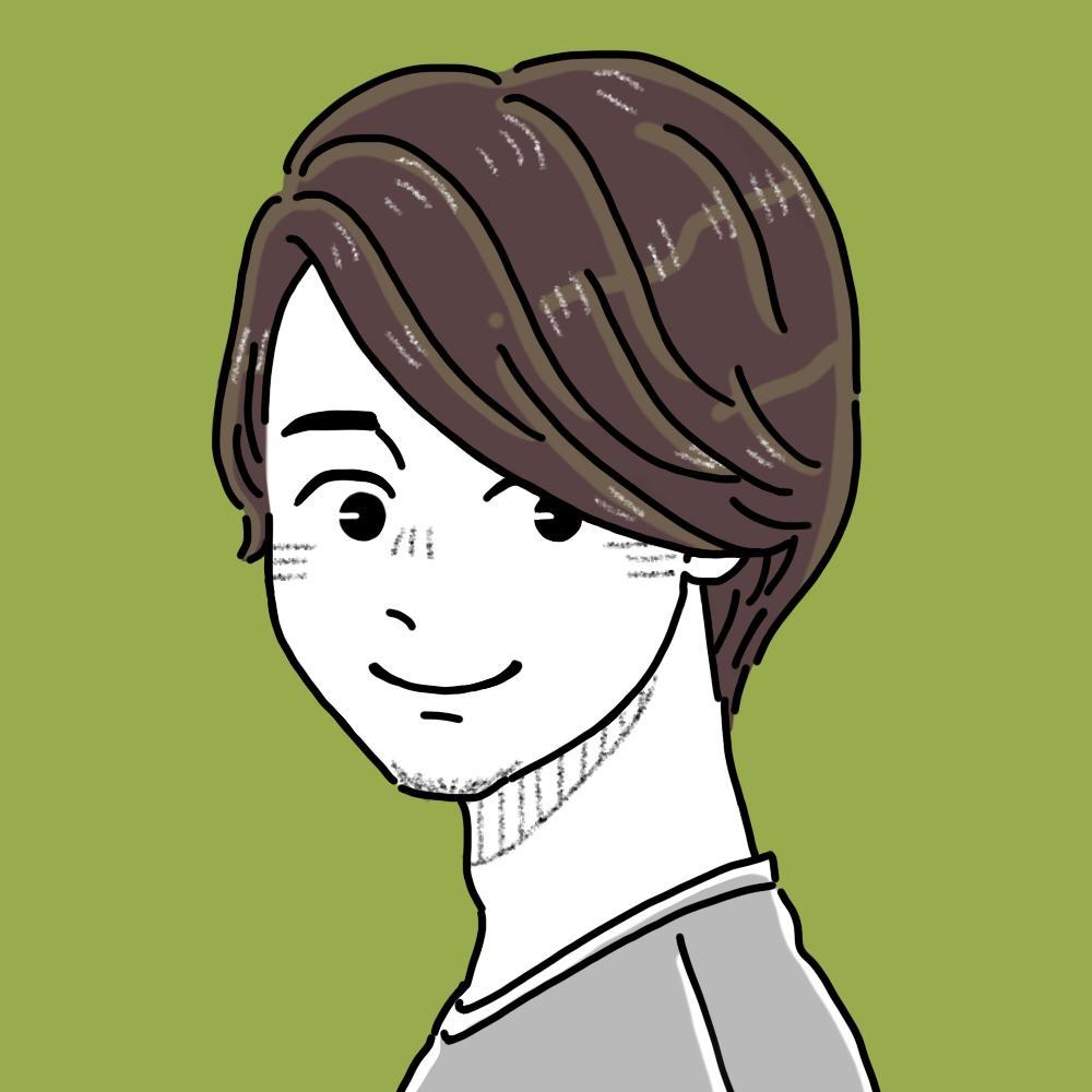 アイコンにもできる雰囲気似顔絵イラスト描きます シンプルでちょっと変わった似顔絵が欲しい方へ