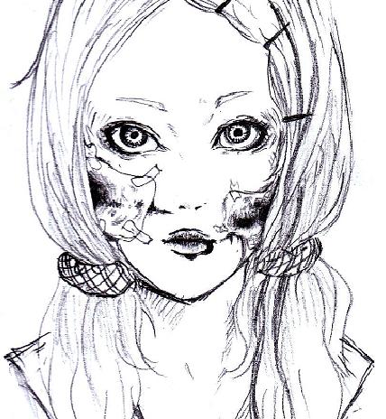 色鉛筆、アナログイラスト描かせていただきますv