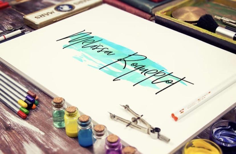 美しい筆記体の手書きロゴを作成します 誰もが振り向く、そんなロゴをお求めのあなたに