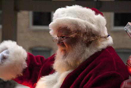 北極のサンタクロースから白熊ポストカードをお送りします。