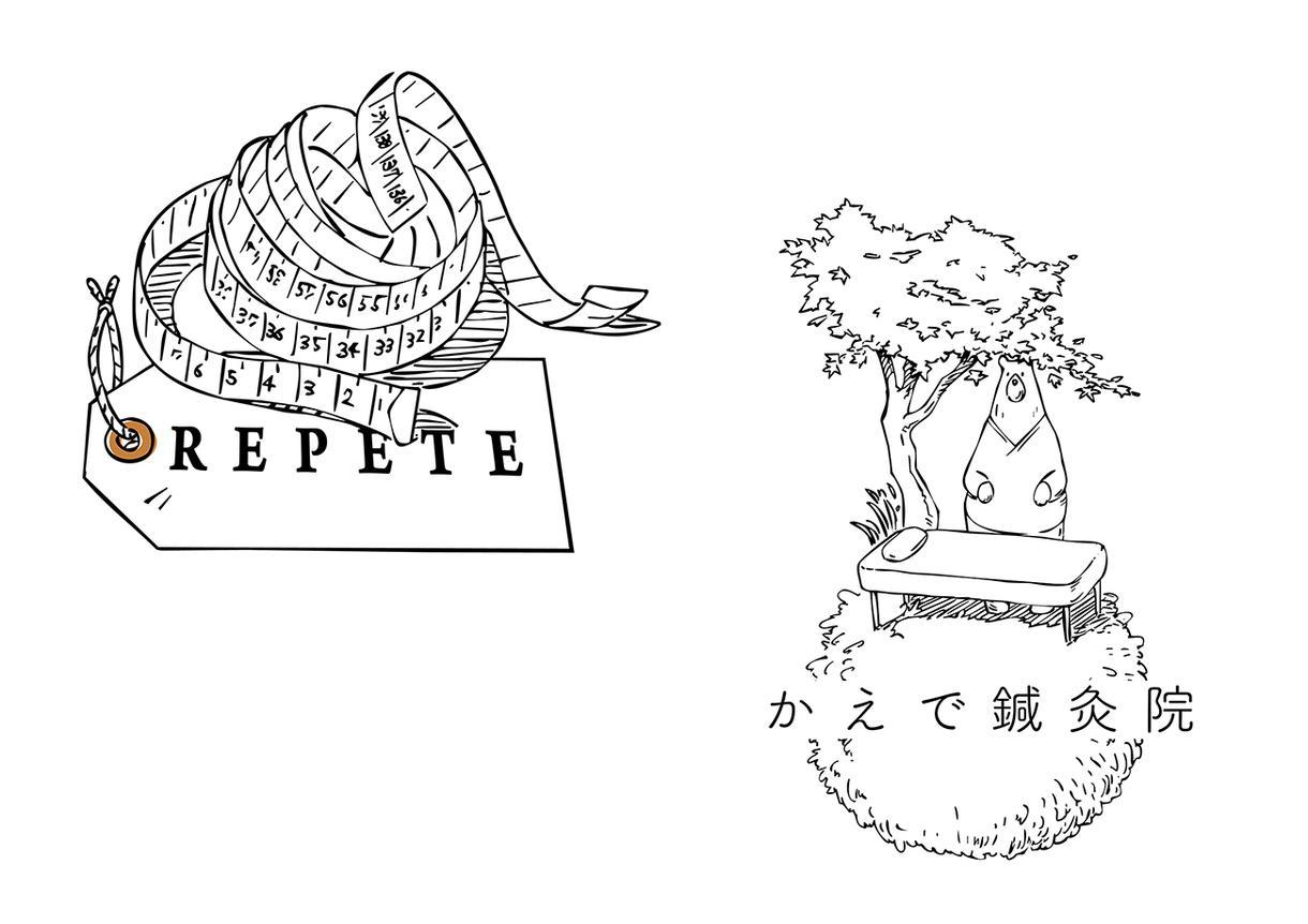 イラスト線画ロゴ作ります 少し変わったロゴをお求めの方、