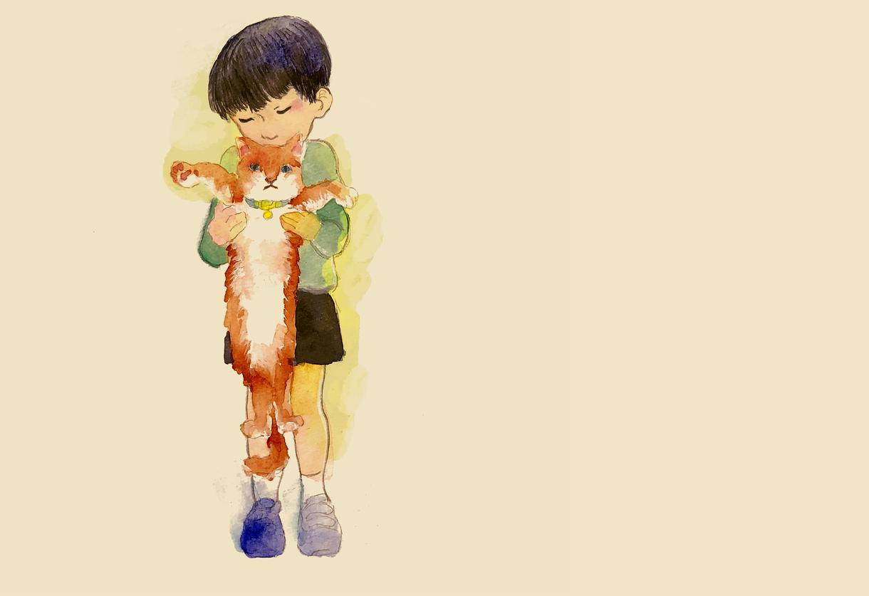 絵本タッチのイラストを描きます どこか懐かしい絵本テイストで癒されませんか?