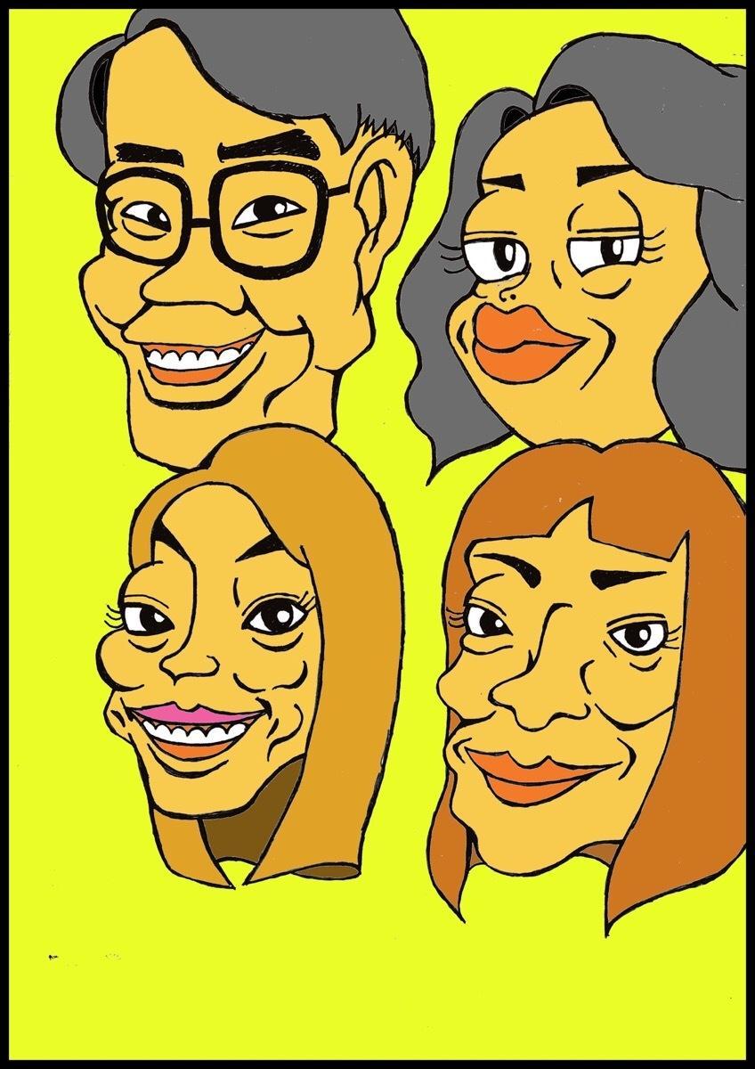 似顔絵描きます リアル調の似顔絵を描きます。サンプルをご覧ください。