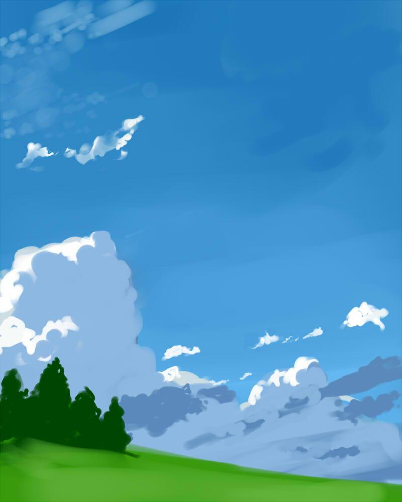 風景を中心に描きます!! 【壁紙から挿絵程度に】