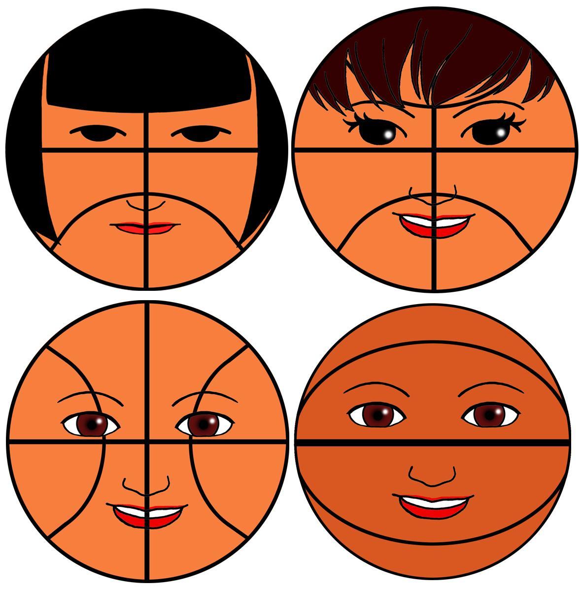 ボールのようなアイコンを作ります バスケ好きを表現するアイコンを求めている方へ