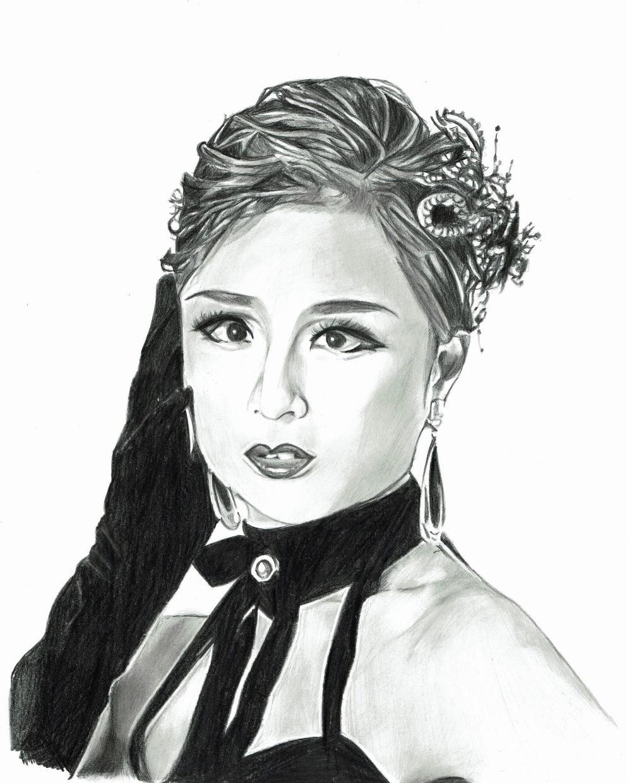 宝ジェンヌさんの鉛筆画を描きます 鉛筆画で贔屓のジェンヌさんを描きます