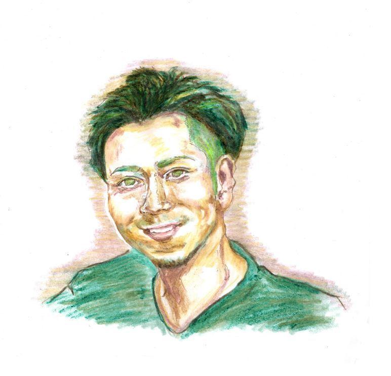 色鉛筆で貴方の魅力をぐっと引き出す似顔絵描きます 温もり溢れる最高の一枚を。SNSアイコンやプレゼントにも