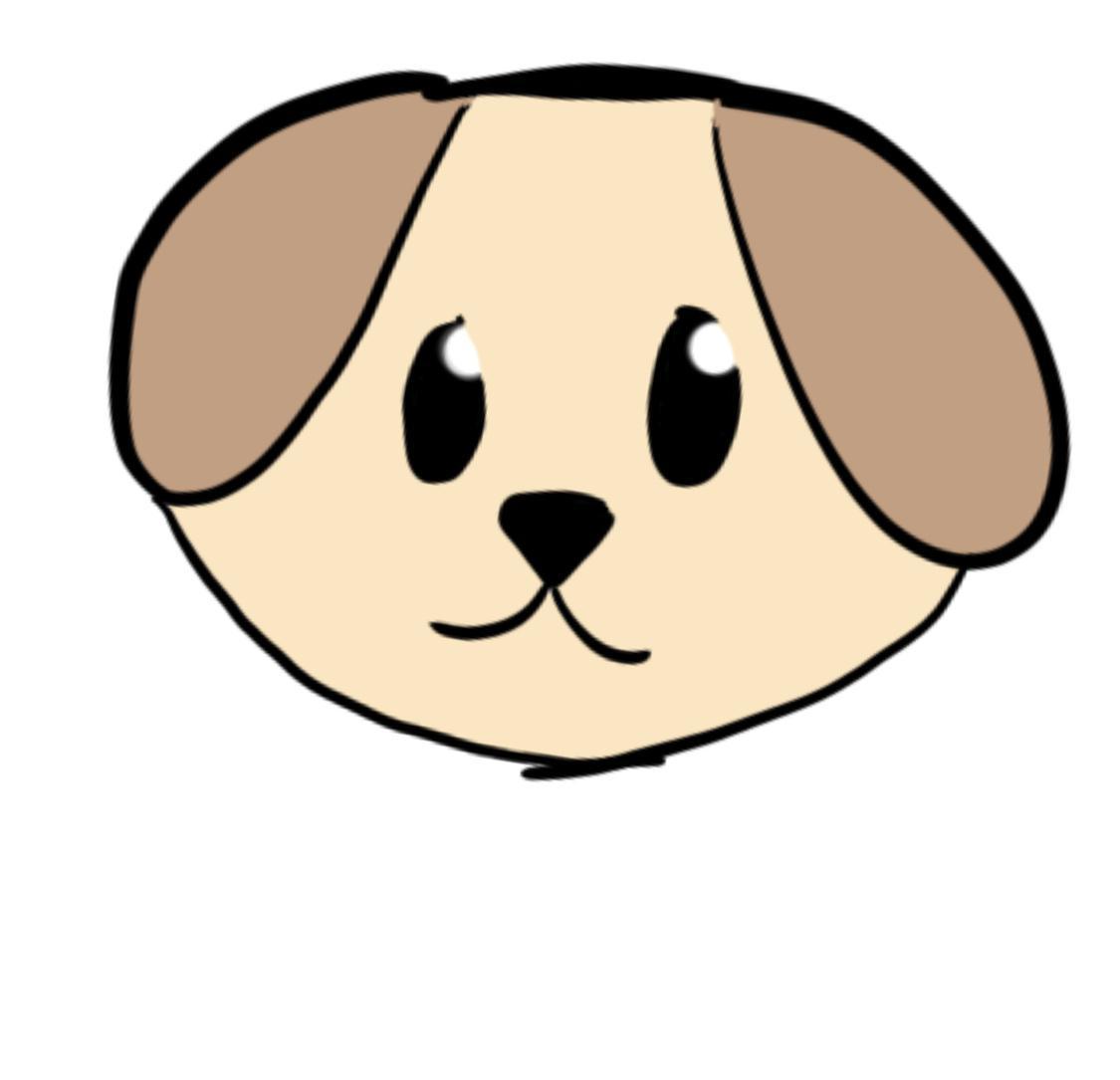 動物、ペットのイラストをゆるく描きます ゆるゆるな絵、自分のペットをイラストに