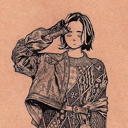 レトロでオシャレなイラストを描きます アイコンやプレゼント、インテリアにおすすめ! イメージ1