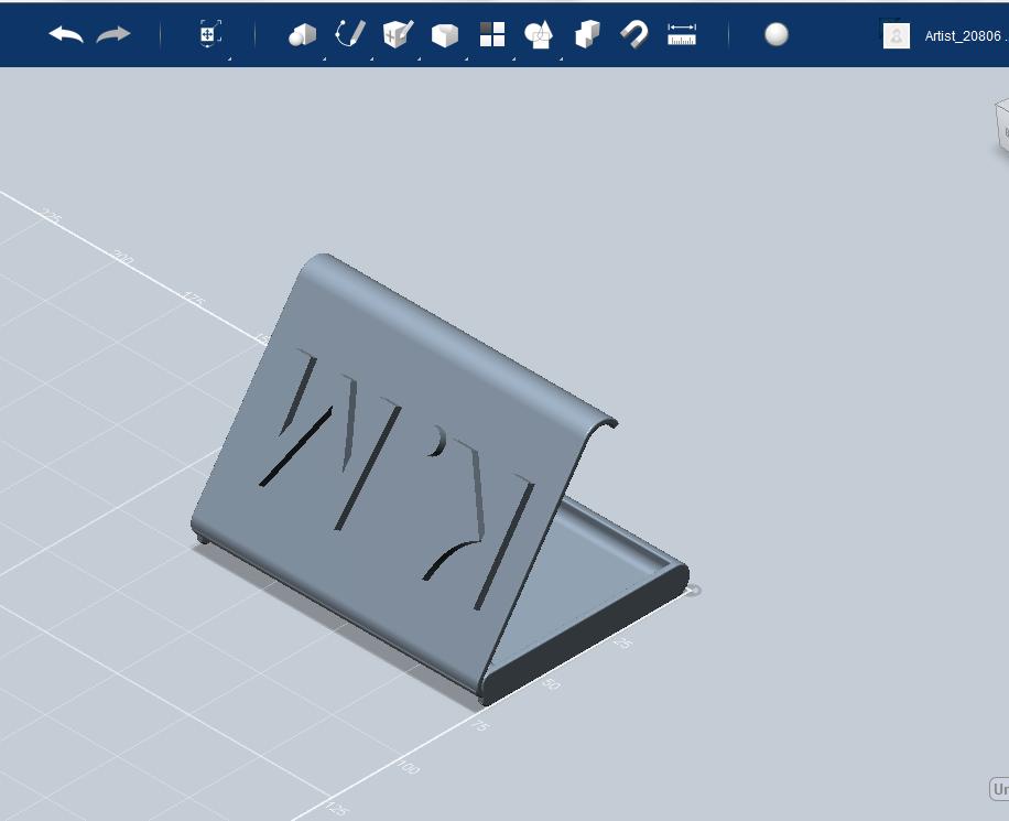3Dプリンターによって出力するための3D図面のファイルを代わりに作成します