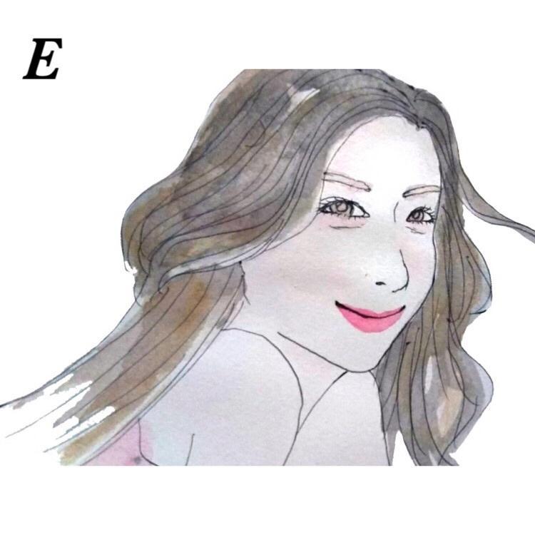 お写真から似顔絵作成します 5種類のタッチから選べる!商品プリントも選べます