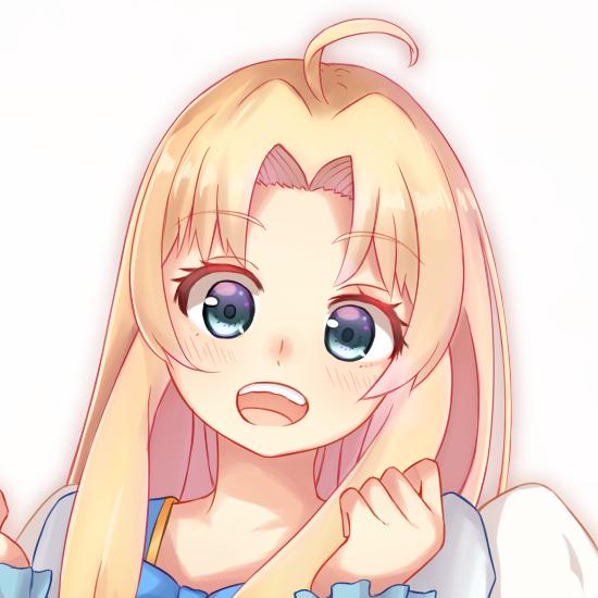 ツイッター等のアイコンを描きます SNS上で可愛い女の子のアイコンが欲しい方は是非