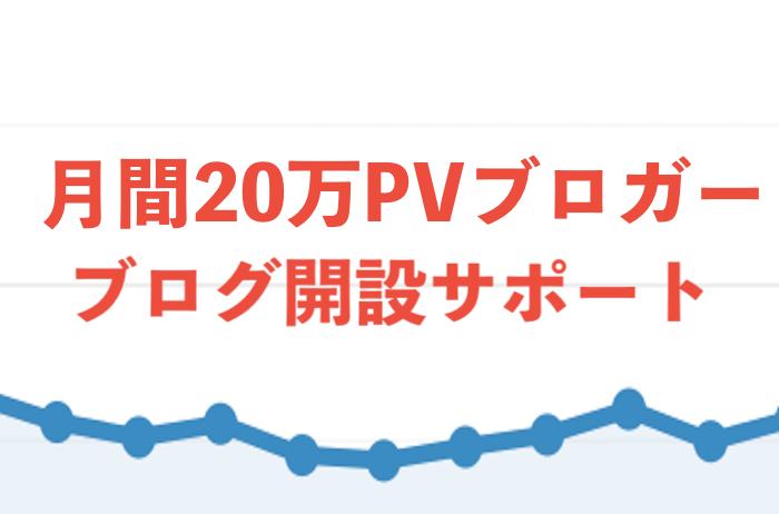 Wordpressブログ開設をサポートします ブログ未経験歓迎!月間20万PVブロガーが開設をサポート! イメージ1