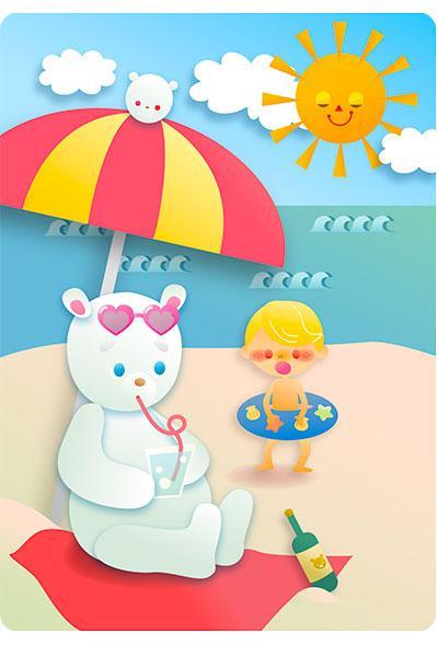 子供向けのイラスト作成します ネット上で使用するイラストが必要な時にどうぞ!