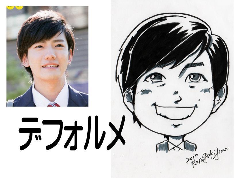 筆ペンで「手描き似顔絵」♪描きます SNSのアイコンやプロフ画像にどうぞ♪