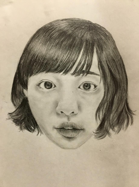 似顔絵(人物/動物)物など鉛筆模写します お好きなサイズで承ります。(A4まで)原物郵送。