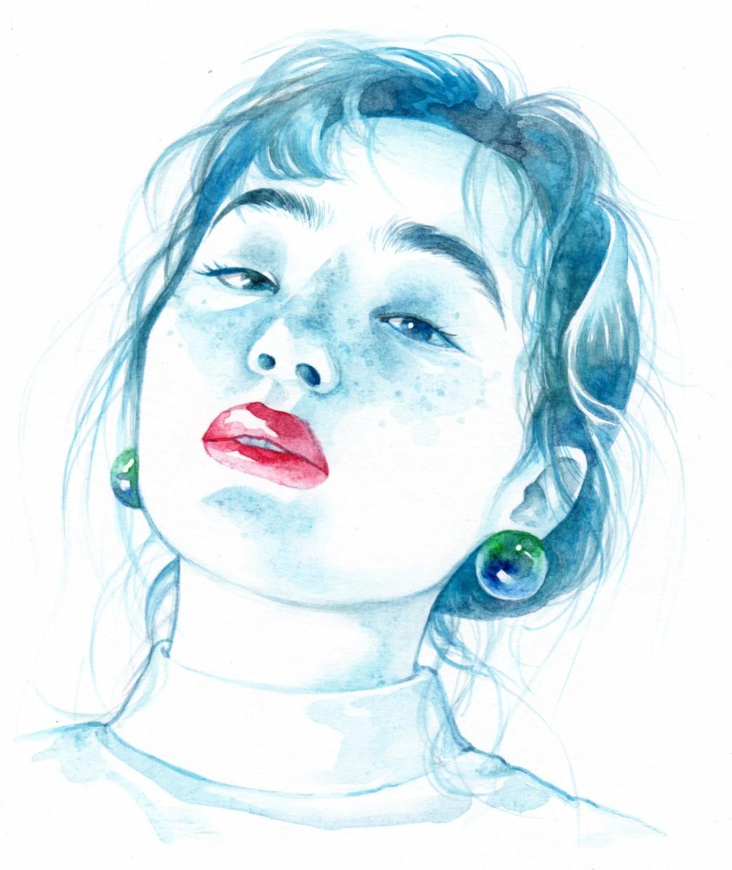 キレイめ似顔絵♪丁寧に、美しく描きます アイコン、名刺♪プレゼントにも♪