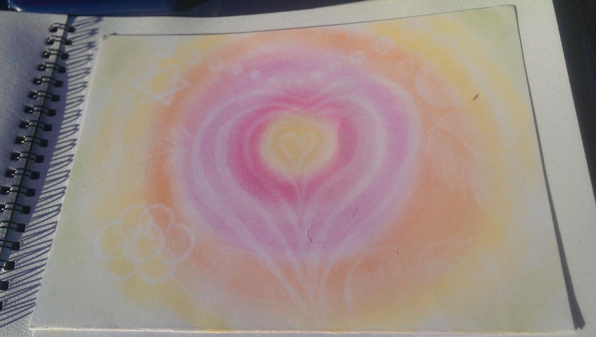 イラスト書きます パステル使った絵を描きます。心が和むようなふんわりパステル画