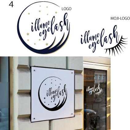 服飾、美容、サロン、エステ、レストラン等のロゴます 店舗、サロンを開く貴方へお洒落にイメージ統一!名刺、看板等も