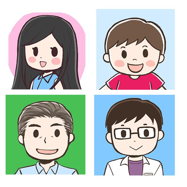 SNS等で使用するキャラクターアイコンお描きします 自分だけの可愛いアイコンが欲しい方!