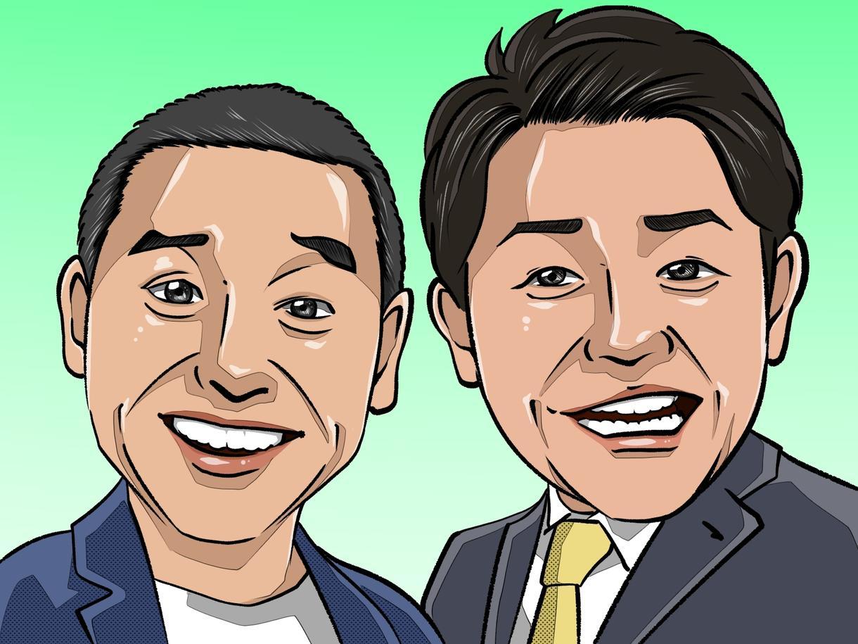 写真から似顔絵を作成します SNSのアイコン、プロフィール画像、名刺等でご利用ください。