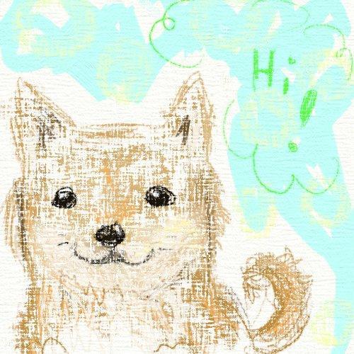 あなたのペットちゃんの絵をほんわかした雰囲気で描きます!