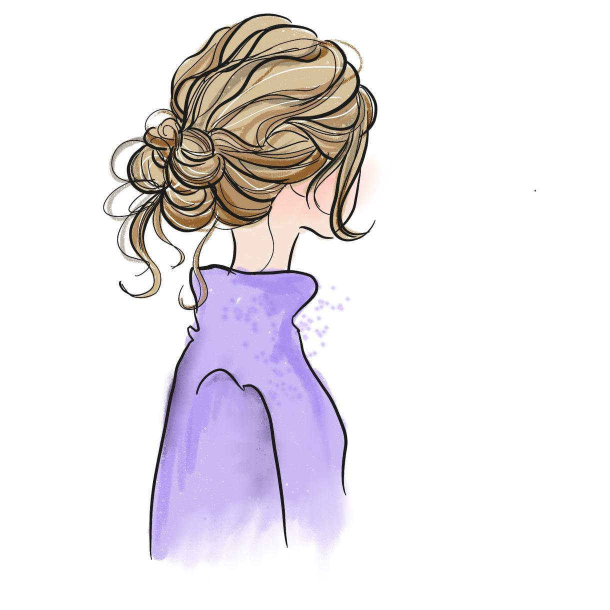 線描き、イラストを書きます シンプルで可愛い、おしゃれイラストを描きます!
