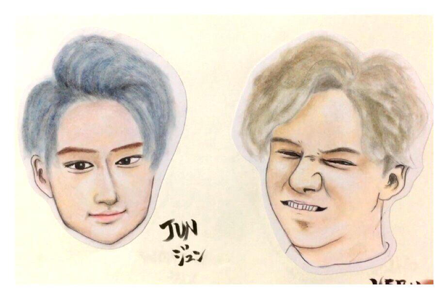 イラスト、似顔絵描きます 温かみのある似顔絵をプレゼントに添えてはいかがでしょう
