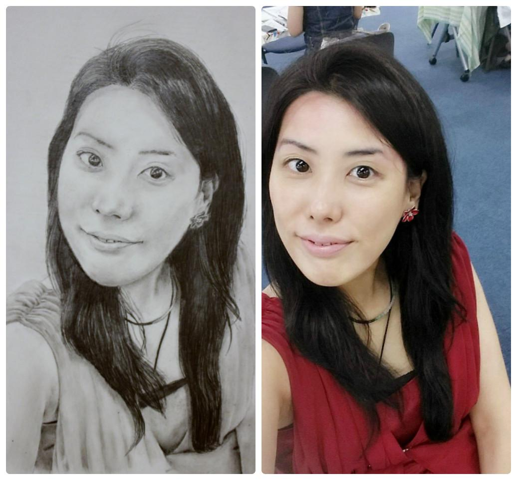 細密画(鉛筆画・ペン画)を描きます。