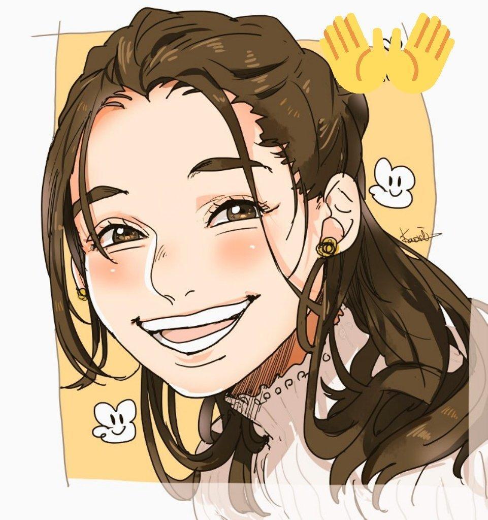 アニメ風やミニキャラの似顔絵など描きます あなたの表情をアイコンにして表現してみませんか?