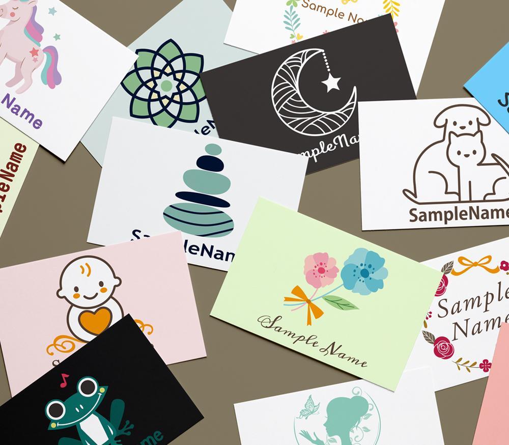 見て選んで安心♪セミオーダーのロゴお売りします 可愛いロゴ、シンプルなロゴ、手描き風ロゴ★著作権譲渡込み★ イメージ1