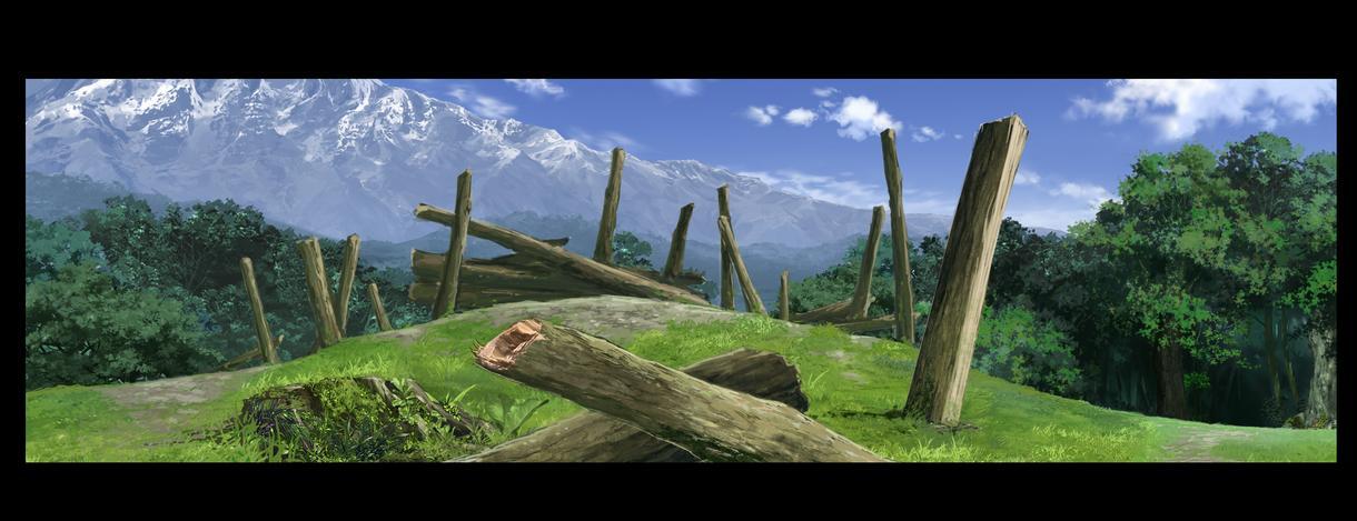 アニメ・ゲーム・版権用背景、イラストも描きます Photoshopで作成、手描き風も可能。