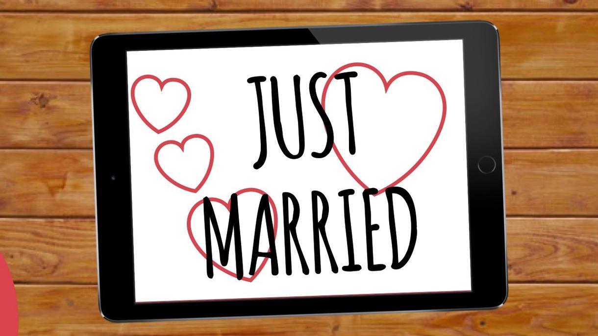 結婚式という晴れ舞台で飾る動画を作成します 結婚式で流す(思い出)動画を作ります