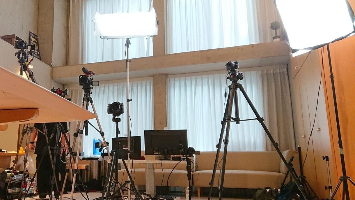 映像制作各種、承ります 企画から撮影~編集まで、ご相談ください!