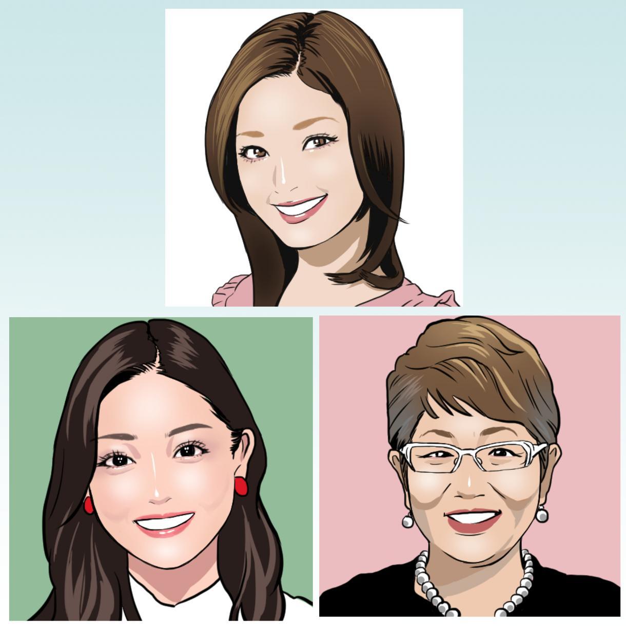 あなたのお写真通りに似顔絵をお描きします 名刺などビジネス用、SNSのアイコン用など幅広く活用可能