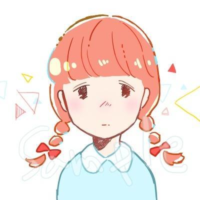ほんわかするかわいい女の子のイラスト描きます 可愛い女の子のオリジナルSNSアイコンやイラストが欲しい方に