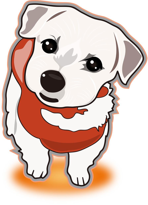 ペットのイラストを作成します 愛犬・愛猫をお写真からイラストにします!