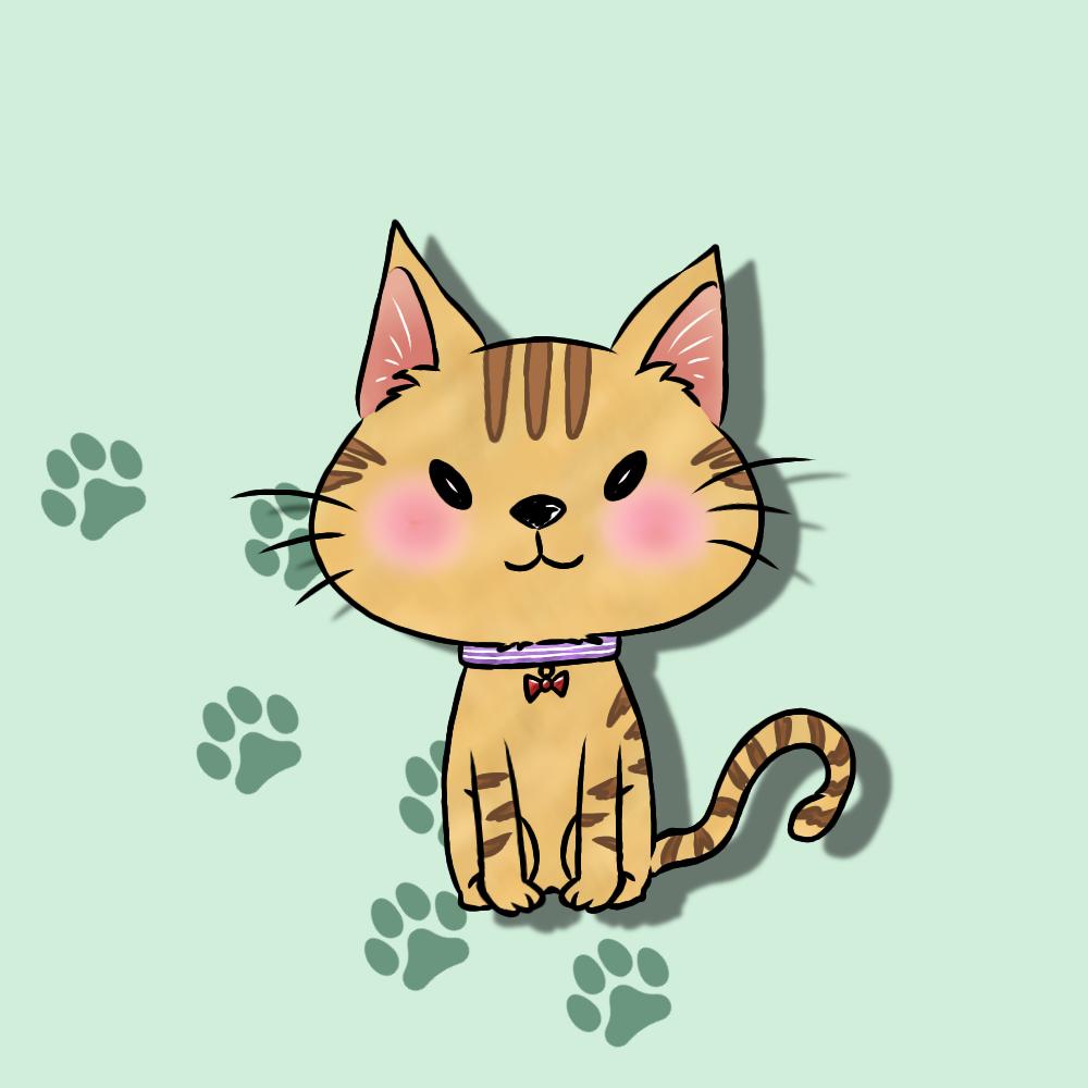 ペットや動物のイラストをデフォルメ調で描きます SNSやブログなどのアイコンにいかがですか?