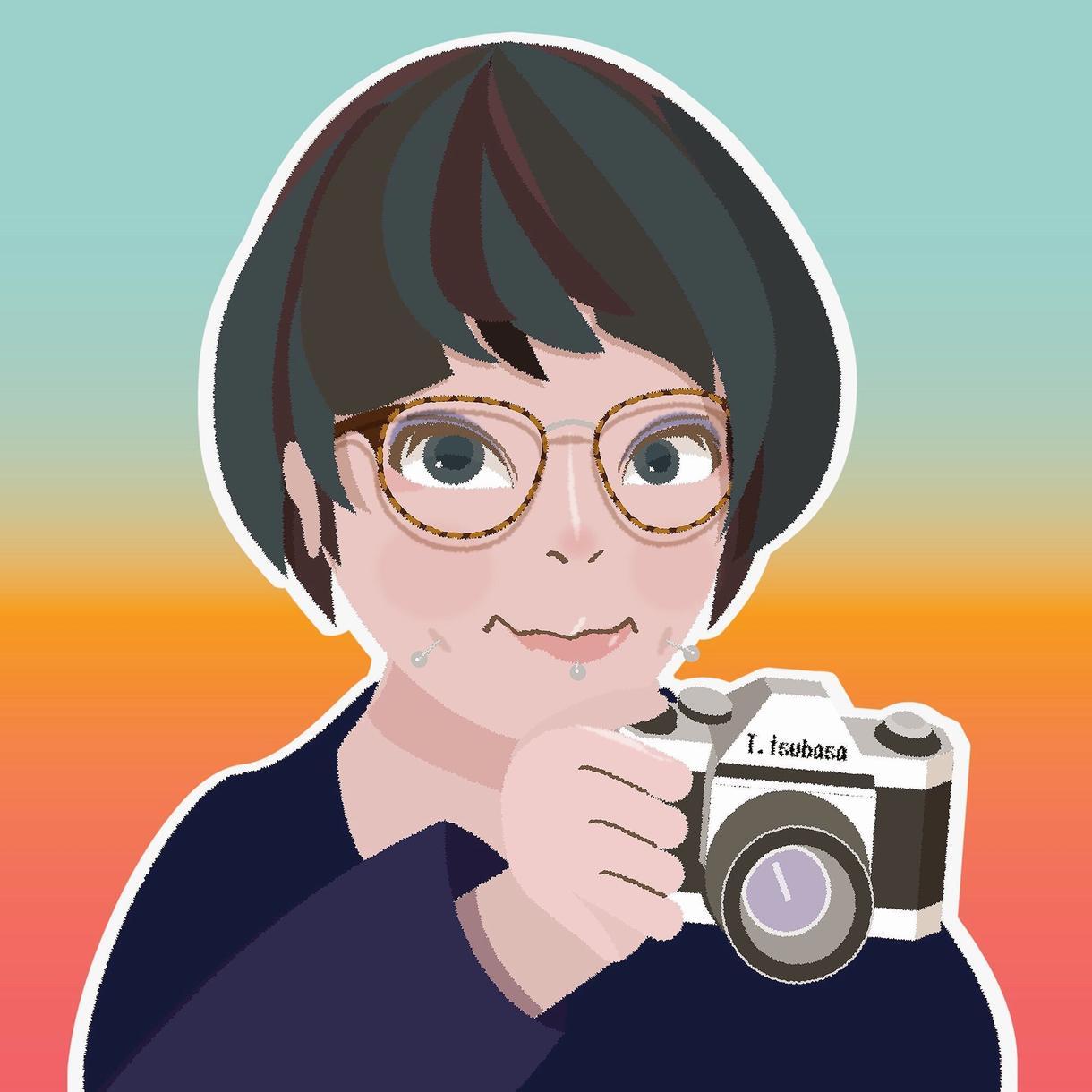 あなたをPRするイラストを描きます 写真以外に自分を表す個性的なビジュアルが欲しい方へ